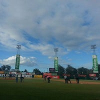 Photo taken at Estadio Julian Javier by Arantxa S. on 1/12/2014