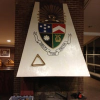 Photo taken at Delta Tau Delta by Whitney B. on 5/4/2013