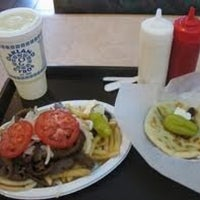 Photo taken at Oakland Gyros by Steve R. on 3/15/2013