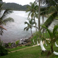 Photo taken at Isla Grande Colon by Jennifer T. on 9/22/2012