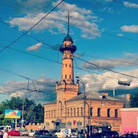 Photo taken at metro Sokolniki by Алексей on 6/13/2013
