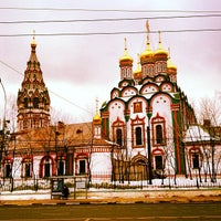 Photo taken at Храм Святителя Николая в Хамовниках by Алексей on 2/17/2013