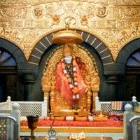 Photo taken at Shirdi Sai Baba Temple (Samadhi Mandir) by RaHul R. on 3/5/2013