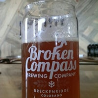 Photo taken at Broken Compass Brewing by Dev A. on 7/25/2014