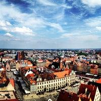 Photo taken at Wrocław by Austin W. on 6/16/2013