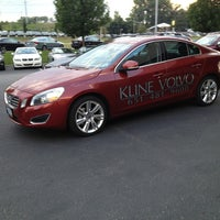 Photo taken at Kline Volvo  by Austin W. on 8/13/2013