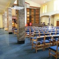 Photo taken at Altrincham Methodist Church by Jackie D. on 4/30/2013
