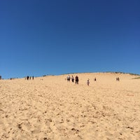Photo taken at Dune Climb - Sleeping Bear Dunes by Todd B. on 7/3/2014