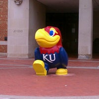 Photo taken at The University of Kansas by LilDebs on 5/5/2013
