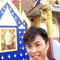 Photo taken at Wat Buddha Thai Thavorn Vanaram by Jacky L. on 10/28/2017