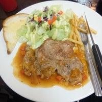 Photo taken at Pk.steak by Papawin S. on 5/17/2015
