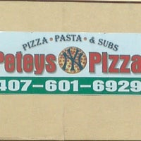 Photo taken at Petey's NY Pizza by Jeffrey Trent K. on 8/13/2013