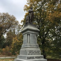 Photo taken at Statue of Daniel Webster by David S. on 11/8/2017