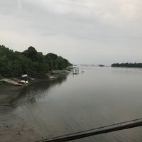 Photo taken at Cos Cob, CT by David S. on 8/15/2017