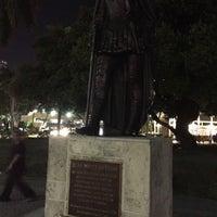Photo taken at Juan Ponce de Leon Statue by David S. on 3/31/2017