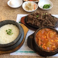 Photo taken at Seoul Tofu Restaurant by Justin P. on 3/6/2014