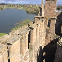 Photo taken at Linlithgow Palace by Justin P. on 4/17/2017