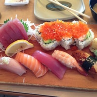 Photo taken at Sushi House by Jessica M. on 7/3/2013