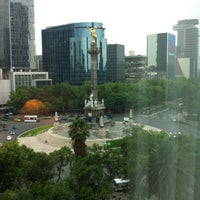 Photo taken at Sheraton Mexico City Maria Isabel by Shannon G. on 5/16/2013