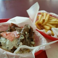 Photo taken at Windy City Gyros by Ron N. on 8/23/2015