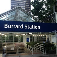 Photo taken at Burrard SkyTrain Station by Neil G. on 7/9/2013