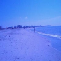 Photo taken at Treasure Island Beach by Aaron S. on 11/4/2012