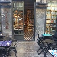 Photo taken at Minoa Bookstore & Café by şeymad0gan ❤️🍷 on 2/7/2016