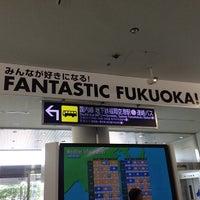 Photo taken at Fukuoka Airport (FUK) by Hung D. on 5/17/2013