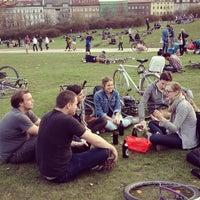 Photo taken at Görlitzer Park by Karl S. on 4/18/2013