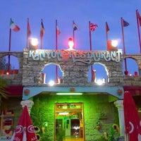 Photo taken at Kanyon Restaurant by Ahmet K. on 1/12/2015
