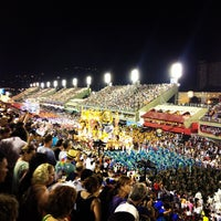 Photo taken at Sambódromo by Diego P. on 2/11/2013