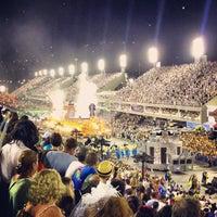 Photo taken at Sambódromo by Diego P. on 2/11/2013