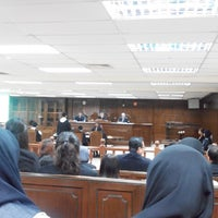 Photo taken at Moot Court by Aton w. on 4/25/2014