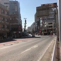 Photo taken at 音楽通り 交差点 by ショウジ on 10/26/2017