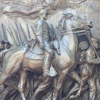 Photo taken at Robert Gould Shaw Memorial by Tom C. on 8/11/2017