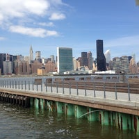 Photo taken at East River Ferry - Hunters Point South/Long Island City Terminal by Julia T. on 4/17/2014