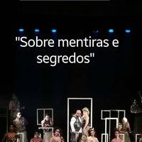 Photo taken at Teatro Dulcina by Douglas G. on 4/21/2017