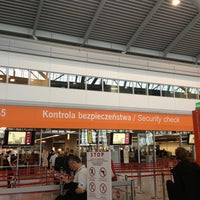 Photo taken at Warsaw Chopin Airport (WAW) by Diogo C. on 9/13/2013