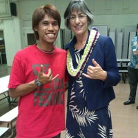 Photo taken at Farrington High School Cafeteria by Gabe T. on 9/28/2012