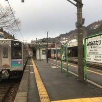 Photo taken at Minami-Otari Station by mican on 3/18/2018