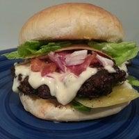 Photo taken at HHH: Hyland Homemade Hamburgers by Shaun H. on 4/15/2014