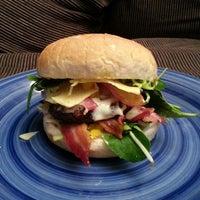 Photo taken at HHH: Hyland Homemade Hamburgers by Shaun H. on 7/4/2014