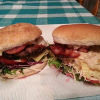 Photo taken at HHH: Hyland Homemade Hamburgers by Shaun H. on 10/18/2013
