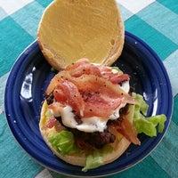 Photo taken at HHH: Hyland Homemade Hamburgers by Shaun H. on 2/25/2014