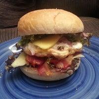 Photo taken at HHH: Hyland Homemade Hamburgers by Shaun H. on 5/3/2014