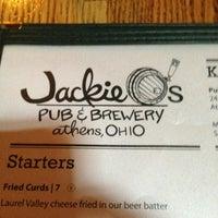 Photo taken at Jackie O's Public House & BrewPub by Ryan L. on 6/8/2013