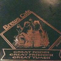 Photo taken at Brews Cafe by Ryan L. on 12/9/2012