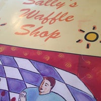 Photo taken at Sally's Waffle Shop by Payton B. on 10/3/2013