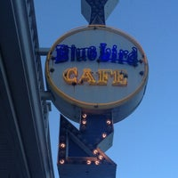Photo taken at Bluebird Cafe by Shane B. on 10/7/2012