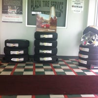 Photo taken at Plaza Tire Service by Melissa C. on 2/26/2013